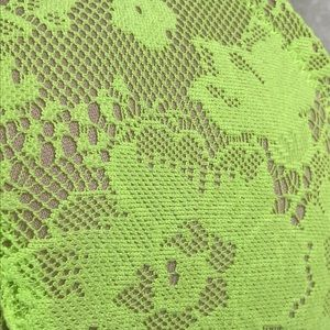 Cacique Intimates & Sleepwear - Cacique Green Lace Plunge Full Coverage Bra 42D
